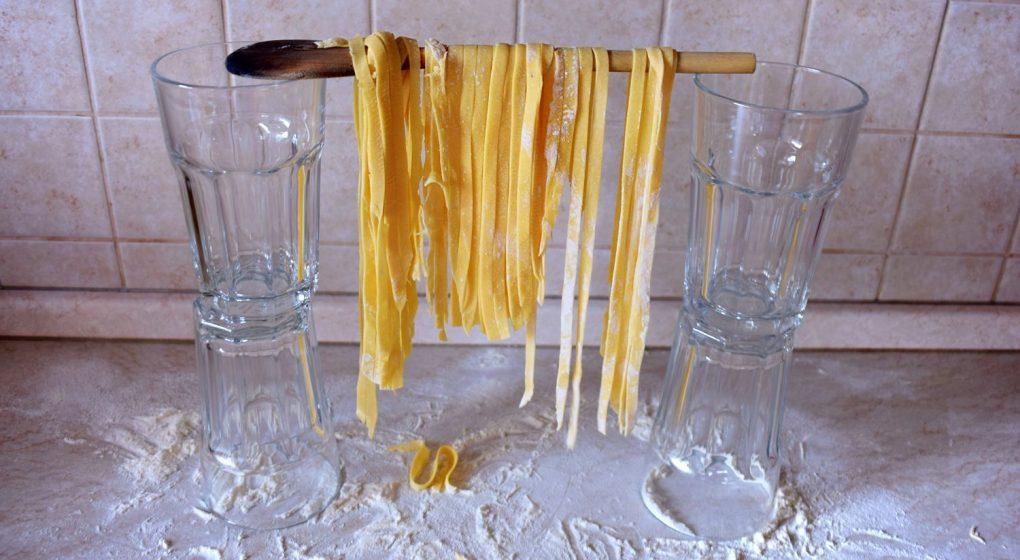 domácí nudle do polévky