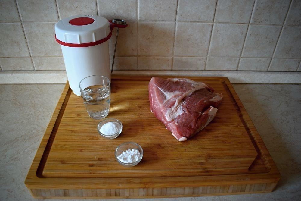 domácí šunka recept