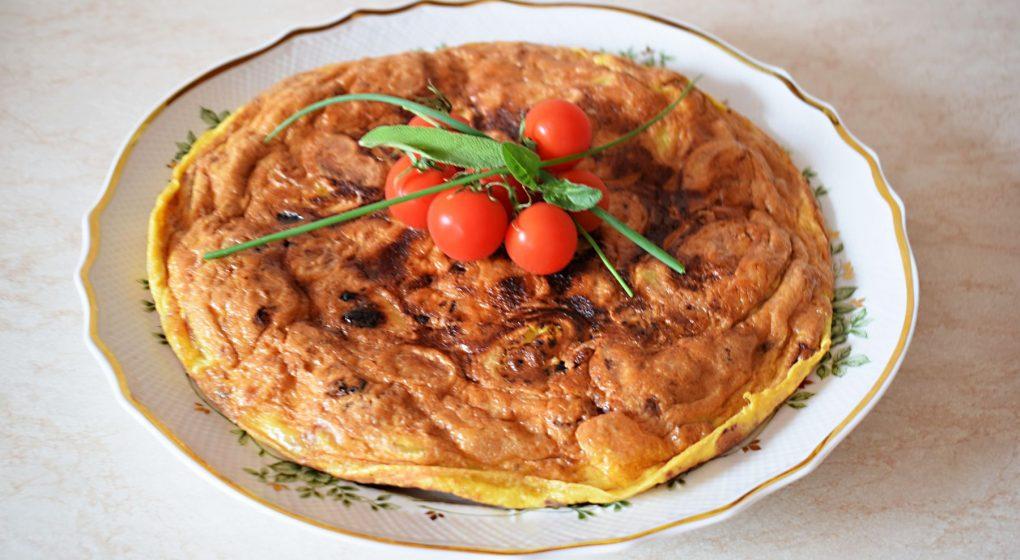 bramborová tortila