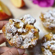 jablečné muffiny recept