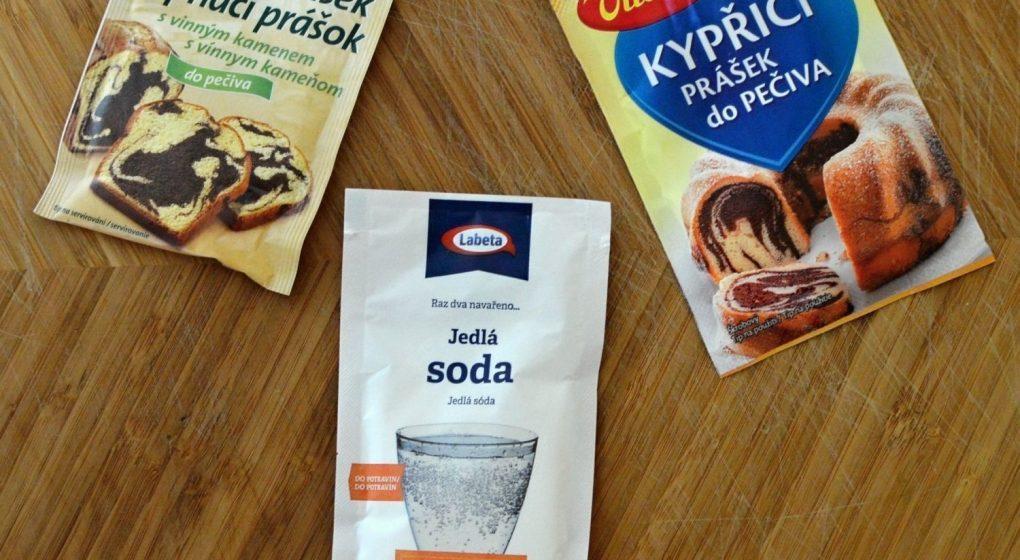 kypřicí prášek jedlá soda