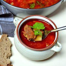 maďarská gulášová polévka recept