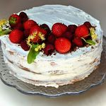 naked cake dort recept