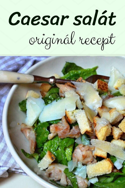 caesar salát recept