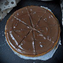 čokoládový dort nepečený s tofu krémem recept
