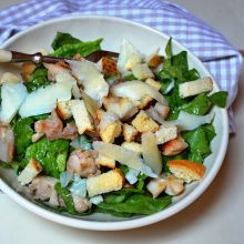 recept na caesar salát