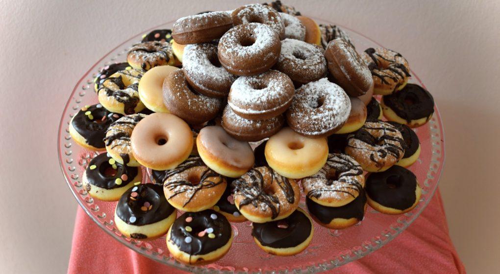domácí mini donutky