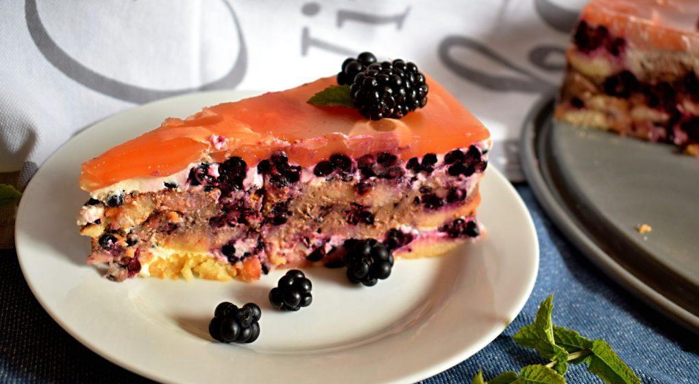 nepečený dort z piškotů