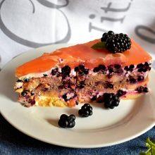 nepečený dort z piškotů: recept