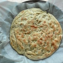 italská focaccia recept