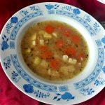 bramborová polévka recept