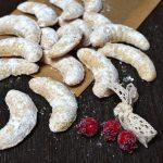 vanilkové rohlíčky z mandlí recept