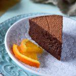čokoládový pomerančový dort recept