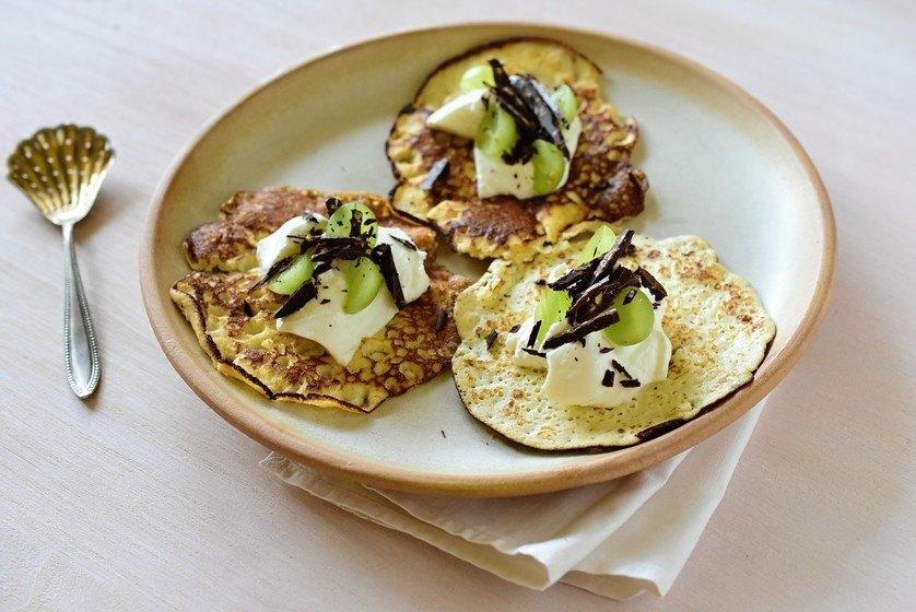 kokosové palačinky lowcarb