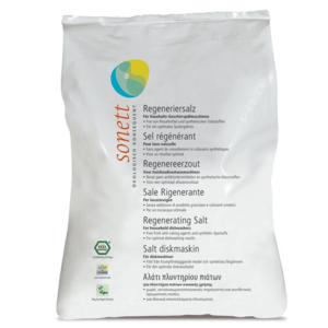 Sonett Regenerační sůl do myčky (2 kg) - zabraňuje usazování vodního kamene