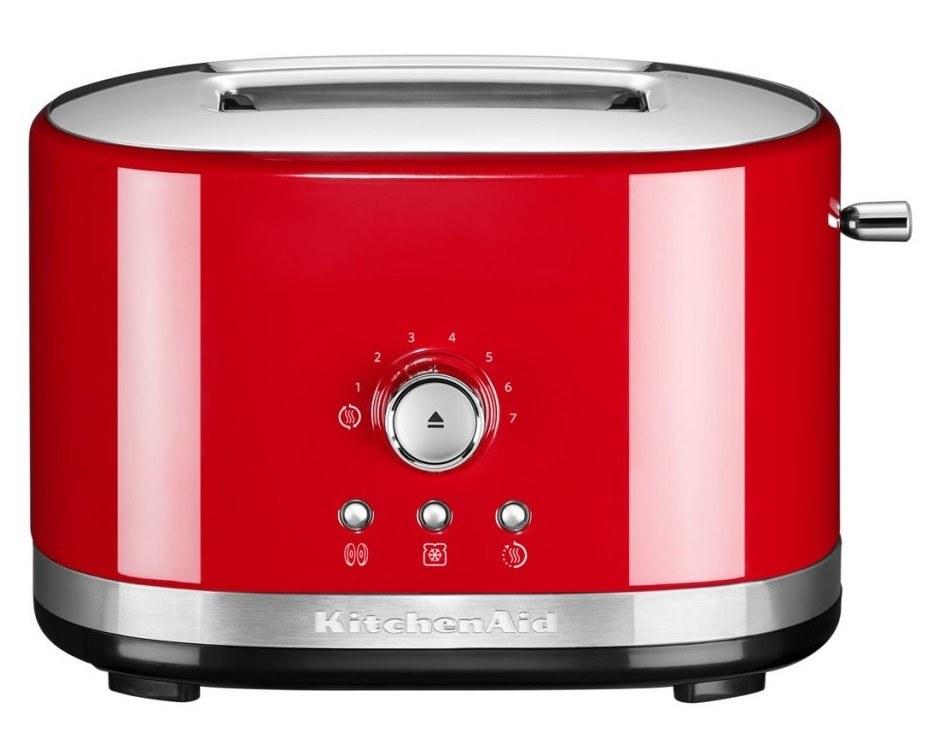 retro topinkovač červený