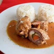 španělský ptáček v troubě recept