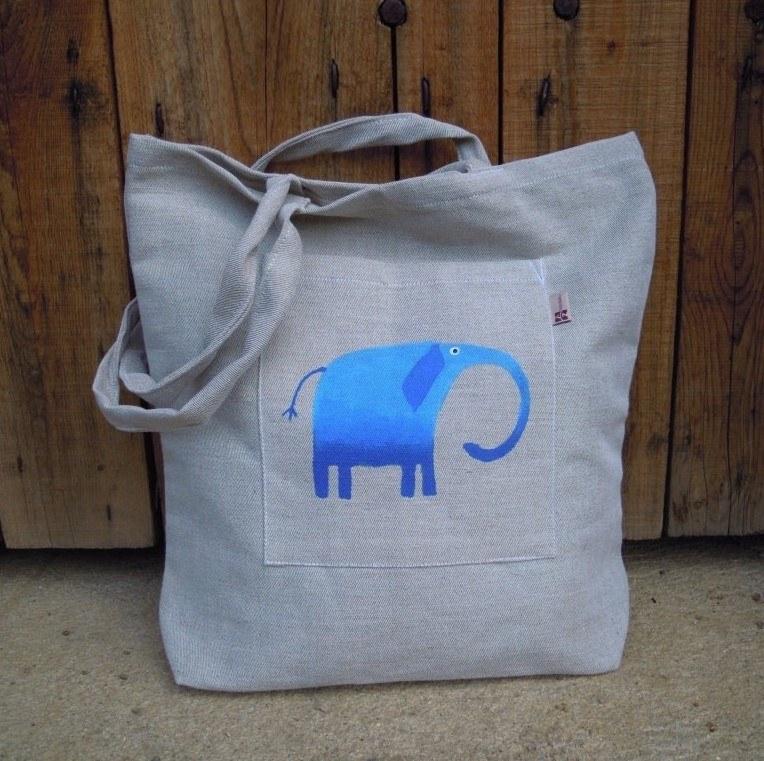 plátěná nákupní taška