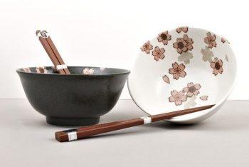 miska z japonské keramiky