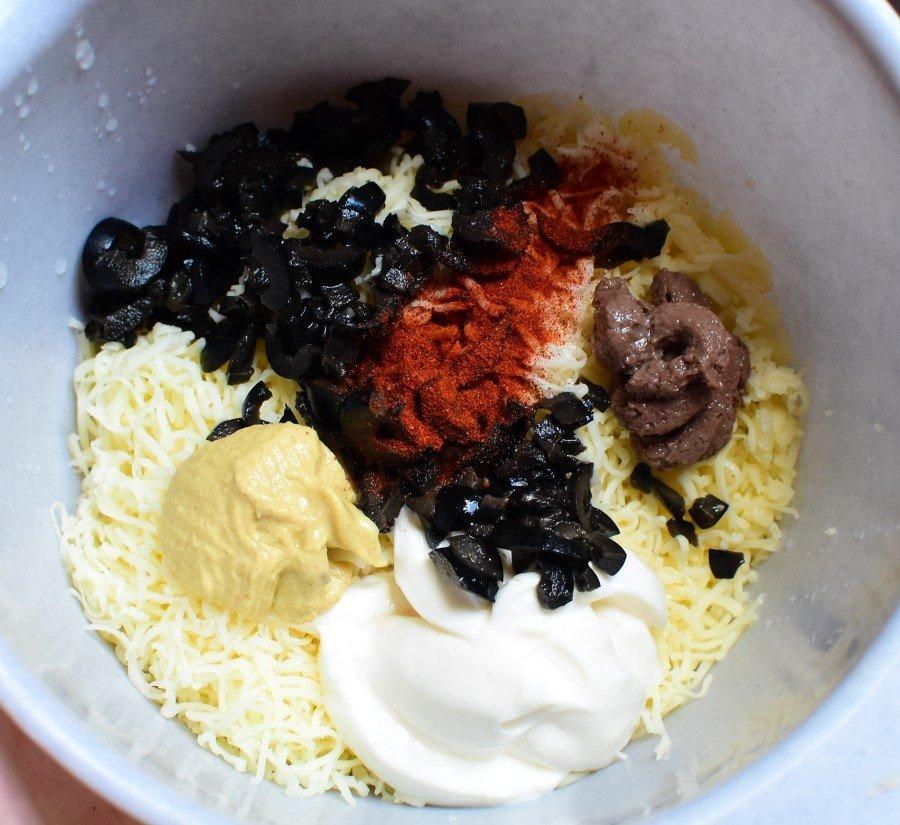 sýrová pomazánka suroviny