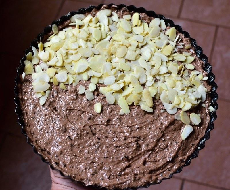 italský čokoládový koláč caprese