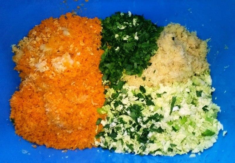suroviny na domácí zeleninový bujon