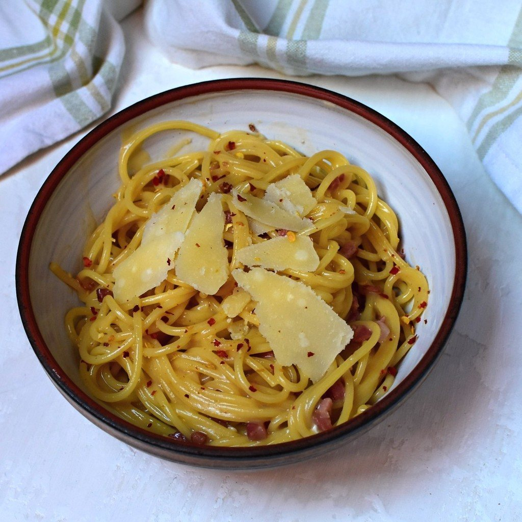 špagety carbonara recept