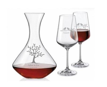 svatební set na víno