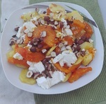 salát z dýně hokkaido recept