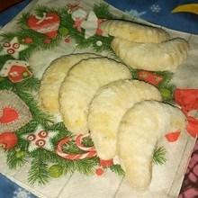tradiční vanilkové rohlíčky