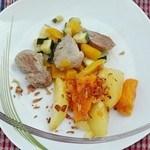 vepřový palec se zeleninou recept