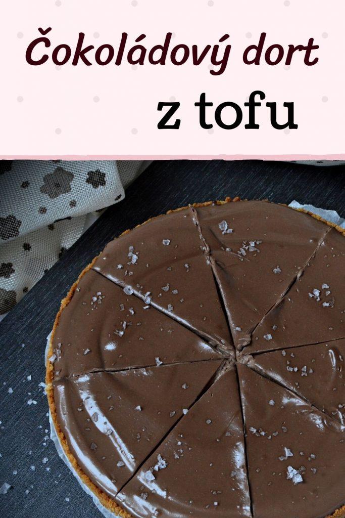 čokoládový dort z tofu