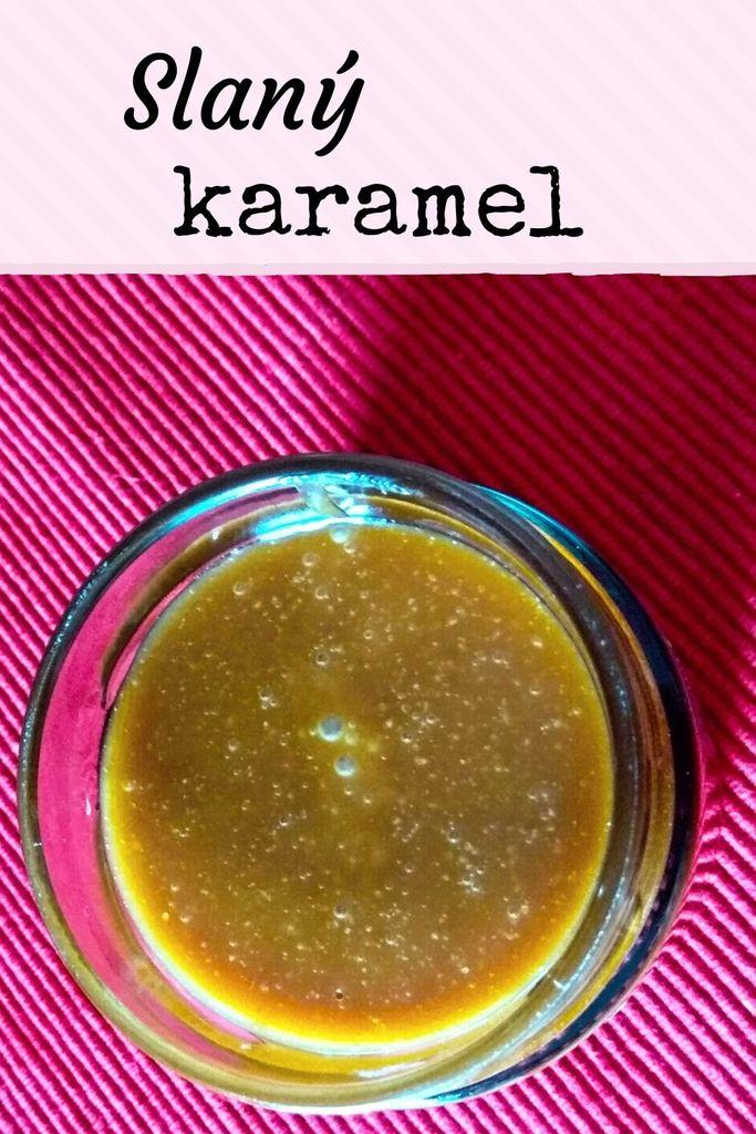 domácí slaný karamel