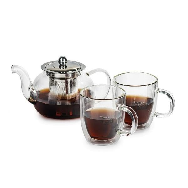 sada na čaj termo sklenice