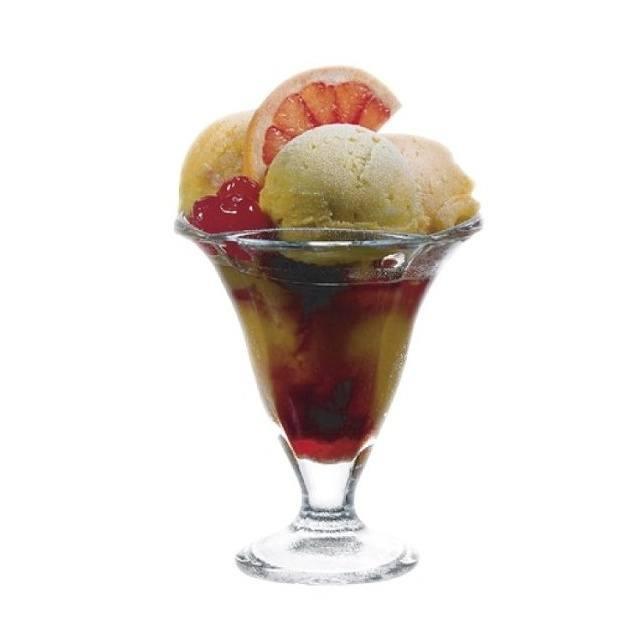 zmrzlinový pohár sklenice