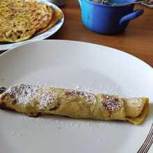 bramborové lokše s povidly recept