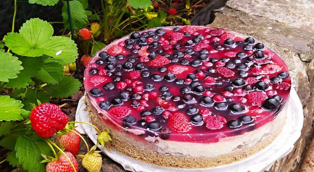 fitness dort s ovocem