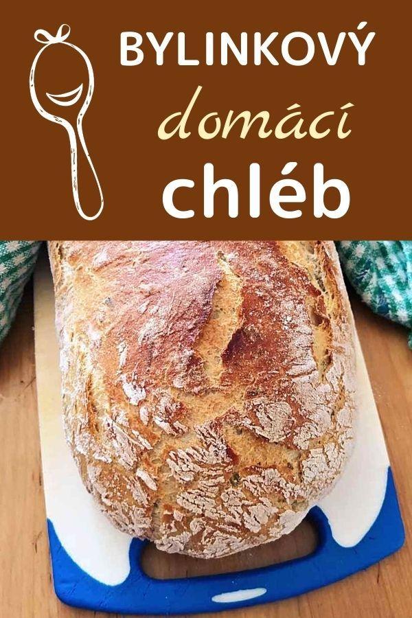 domácí chléb s bylinkami