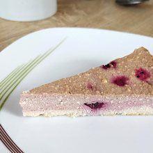 fit tvarohový dort recept